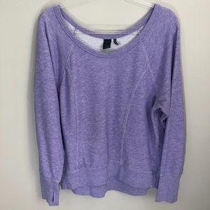 Z by Zella Purple Sweatshirt L